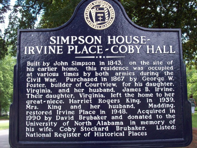 Simpson House - Irvine Place - Coby Hall