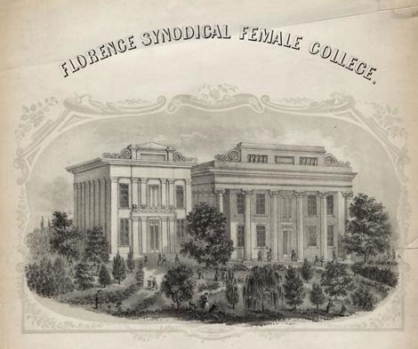 Florence Synodical Female College - Florence, Alabama