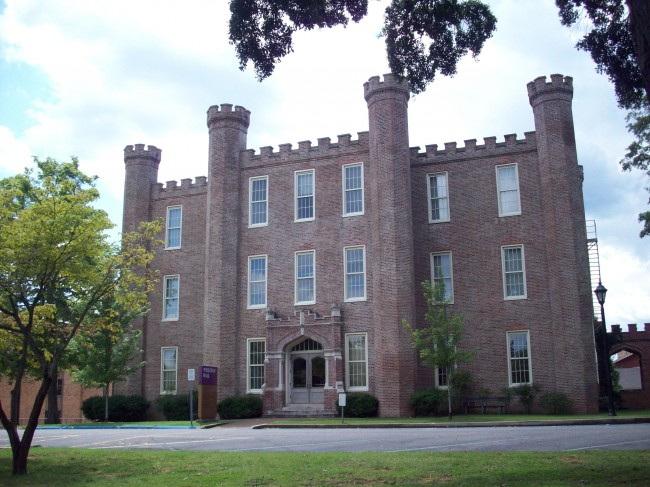 Wesleyan Hall photograph circa 2010