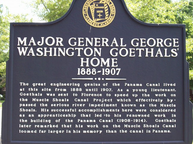 Major General George Washington Goethals' Home historical marker