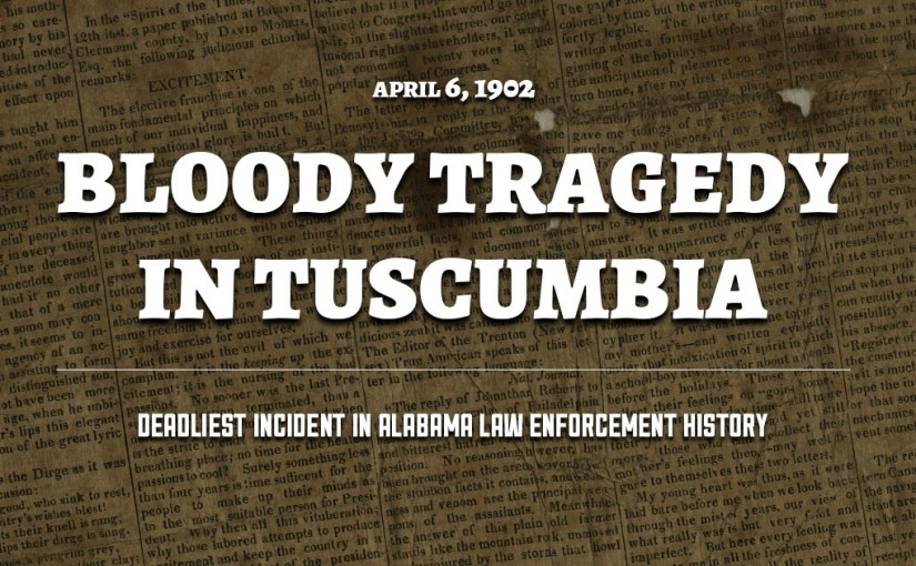 Sheriff Killed During Bloody Tragedy in Tuscumbia, Alabama